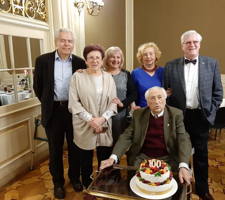 Відомий львівський вчений Степан Стойко відсвяткував сторіччя