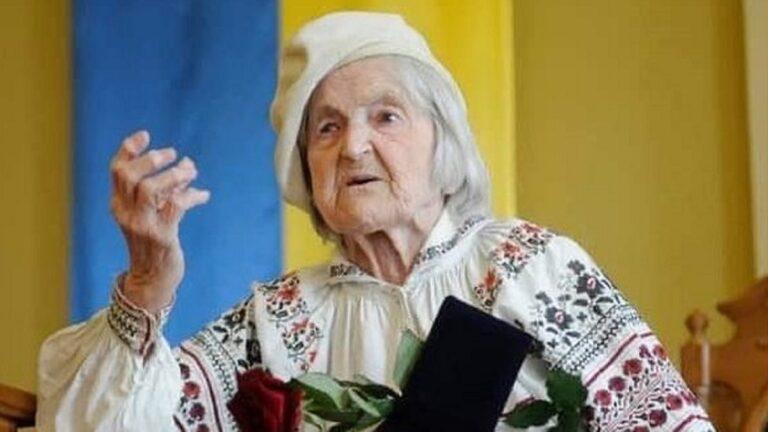 Зв'язковій УПА Ользі Ільків – 101 рік!