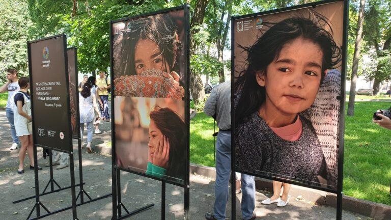 У сквері «На валах» триває виставка фото «Чотири стихії»