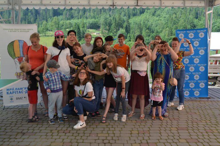БФ «Карітас-Львів УГКЦ» організував сімейний табір для матерів з дітьми