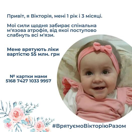 Вікторія Полюга через смертельний діагноз терміново потребує допомоги