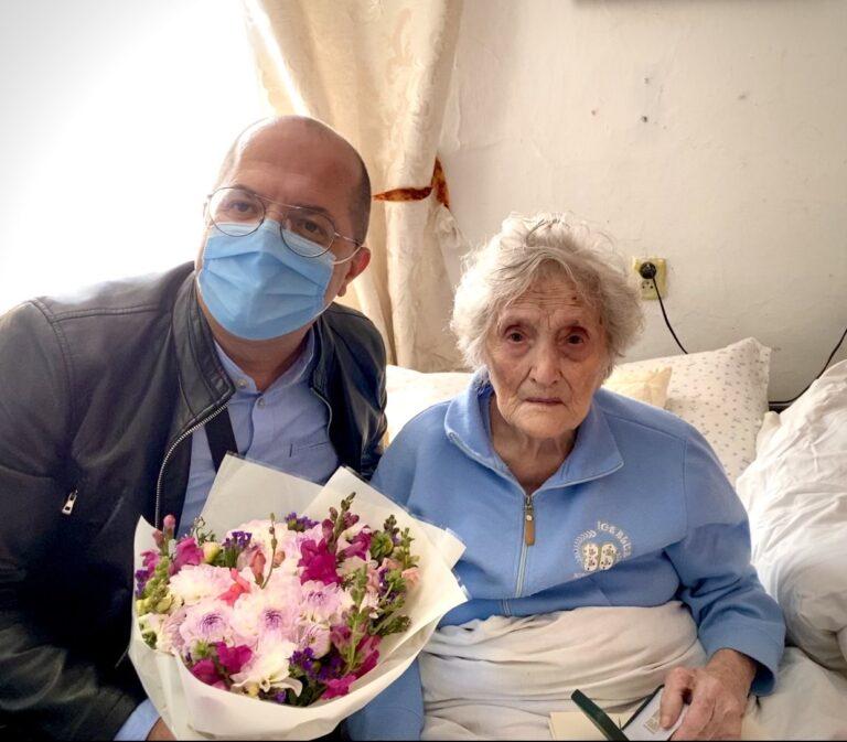 Ще одна львів'янка-довгожителька Пелагія Лещишин відзначила ювілей з нагоди 100 років!