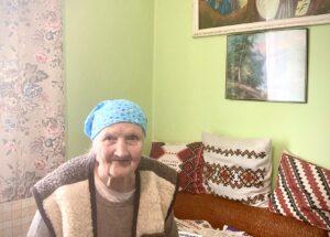 Львів'янка Віра Грицак відзначає свій 101-й День народження
