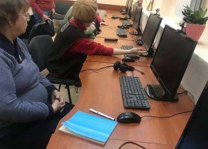 У Львіському терцентрі літніх людей навчають основам комп'ютерної грамотності
