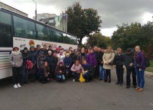 Півсотні людей з особливими потребами вирушили в одноденну мандрівку до Тернополя
