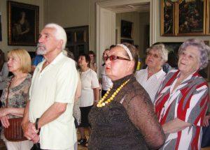 Для літніх львів'ян організували цікаву екскурсію до Палацу Потоцьких