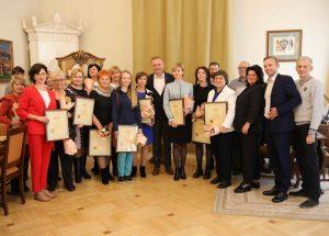 Міський голова привітав працівників соціальної сфери з професійним святом