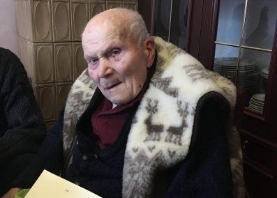 Львів'янин поважного віку Василь Ледвій відзначив свої уродини