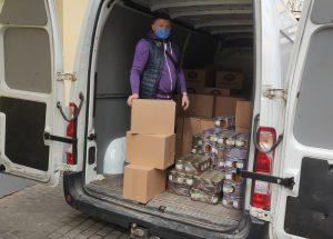У Львові до Великодня закупили 4 600 продуктових наборів для людей у потребі