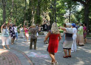Літні львів'яни вчились танцювати бачату