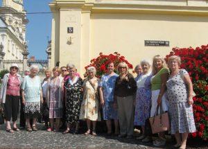 Львів'яни літнього віку побували в Соборі Святого Юра