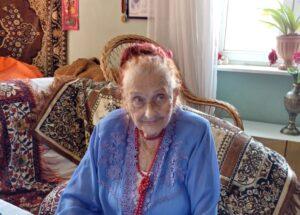 Львів'янка Броніслава Чечина відзначає свій 102-й День народження