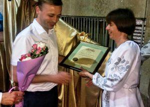 Українське товариство сліпих відзначає 86-річчя: місто привітало незрячих зі святом