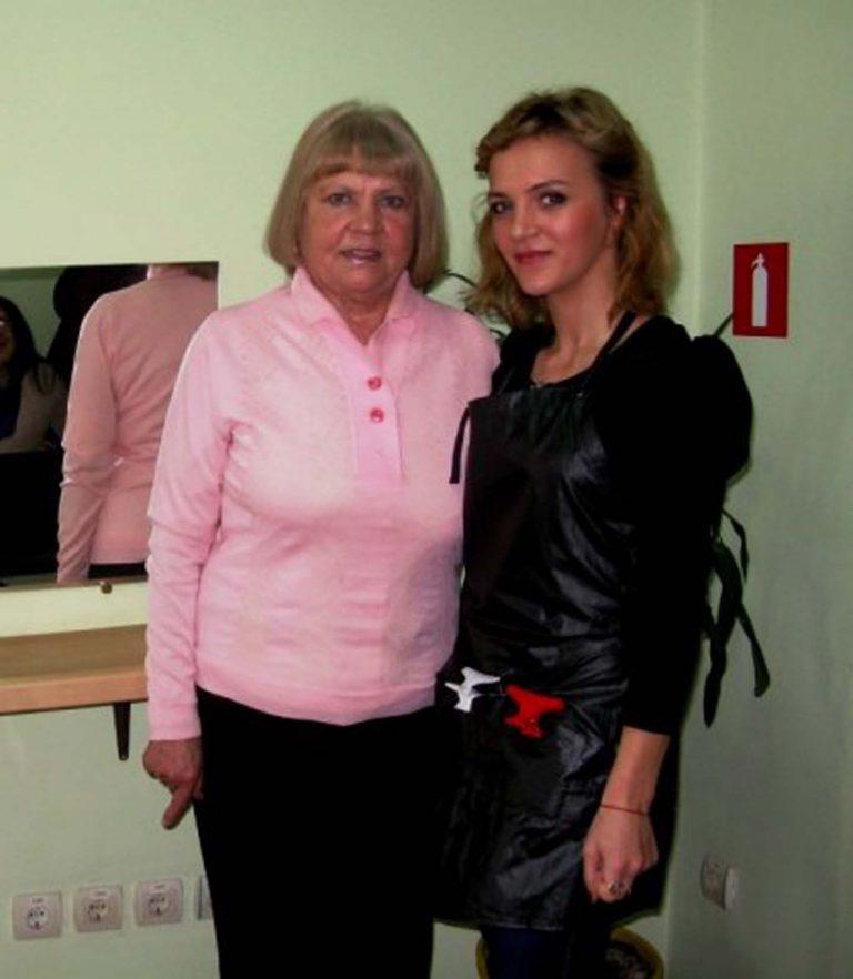 Бабусі Львівського територіального центру взяли участь в акції   «Весна іде, красу несе»
