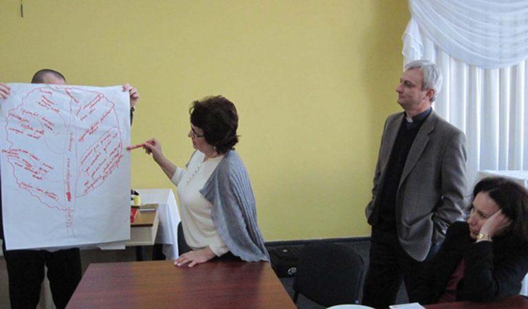 Працівники і волонтери Карітасу Львова вчились працювати в команді і обговорювали спільну стратегію