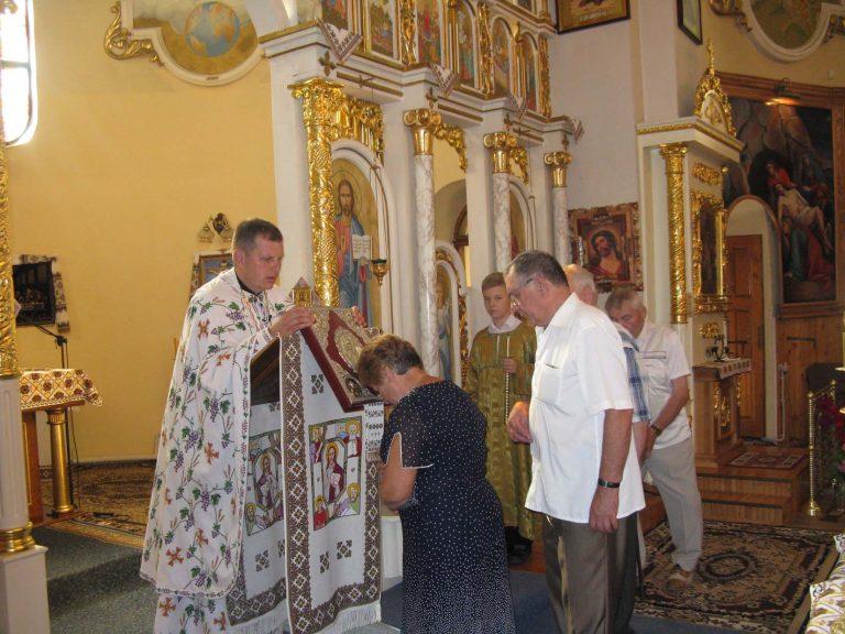 Львів'яни літнього віку вшанували пам'ять рівноапостольного князя Володимира Великого хрестителя Київської Русі