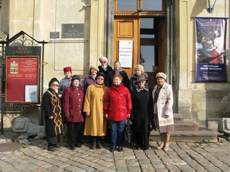 Львів'яни літнього віку насолоджувались шедеврами класичної музики