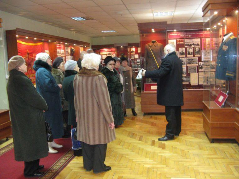 Екскурсія в музей історії Академії сухопутних військ імені гетьмана Петра Сагайдачного