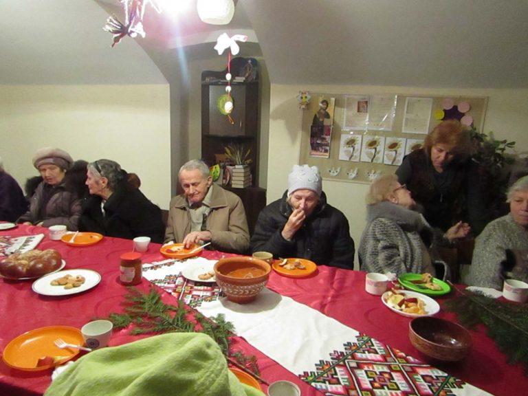 У Франківському відділенні соціальної допомоги відсвяткували свято Андрія