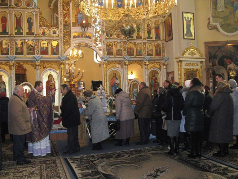 Літні львів'яни відзначили день пам'яті Святого Апостола Андрея Первозванного