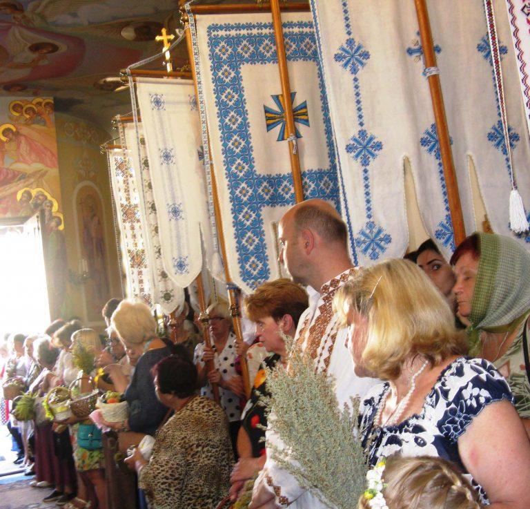 Львів'яни літнього віку відзначили свято Преображення Господнє і Спаса Ісуса Христа
