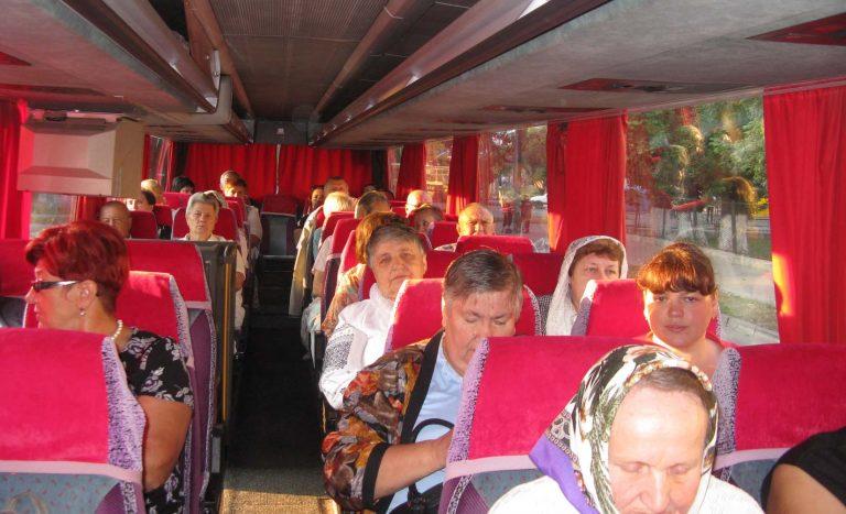 Літні люди побували на Всеукраїнській Патріаршій прощі