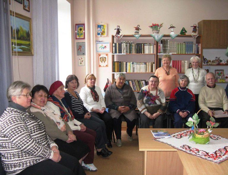 Літнім людям провели тематичну та святкову зустріч з нагоди Всесвітнього Дня вчителя
