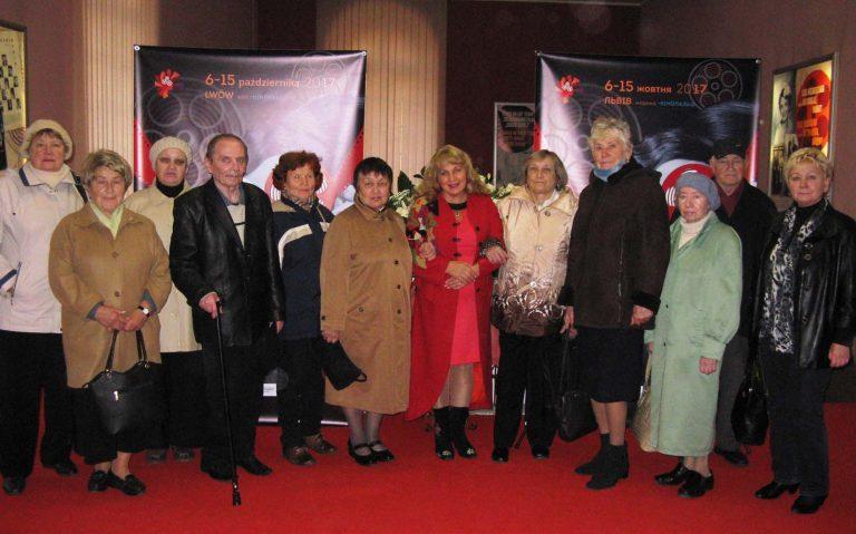 Львів'яни літнього віку переглянули творіння сучасного польського кіно «Під Високим Замком»