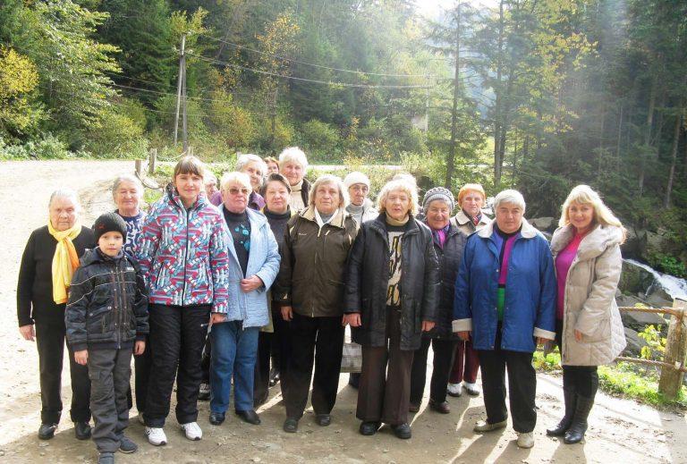 Львів'яни літнього віку подорожували рідним краєм