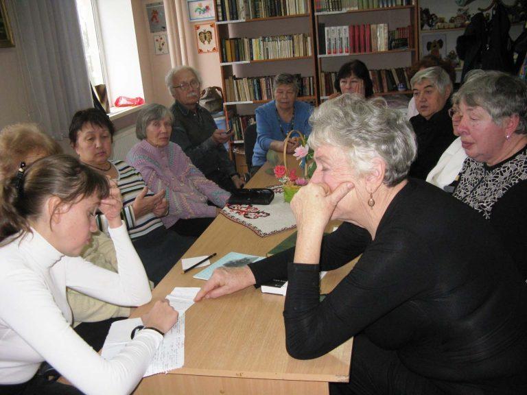 Для літніх львів'ян відбулась тематична зустріч «Хвилини, що бережуть здоров'я»