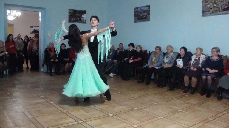 Для людей елегантного віку,підопічних львівського міського територіального центру, відбувся танцювальний вечір