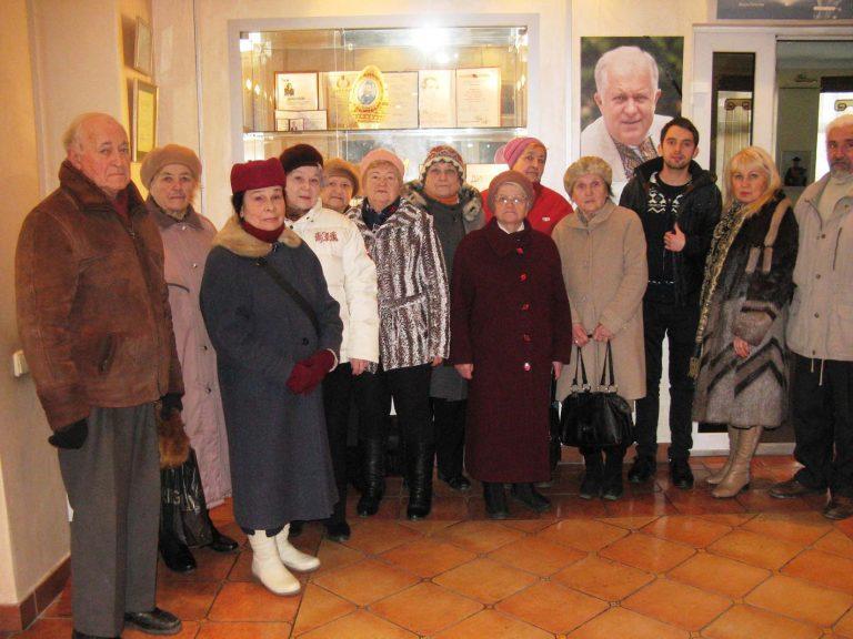 Літні львів'яни вшанували пам'ять видатного сучасника – Василя Пилип'юка