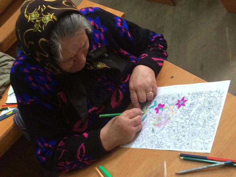 У центрі денного дозвілля при храмі Різдва Пресвятої Богородиці для осіб поважного віку провели психологічну сторінку