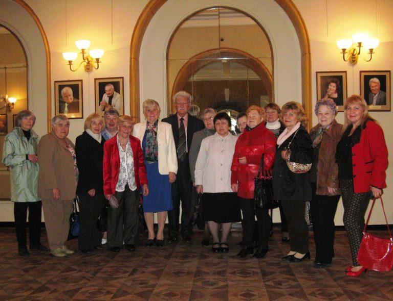 Для літніх львів'ян влаштували вечір театру