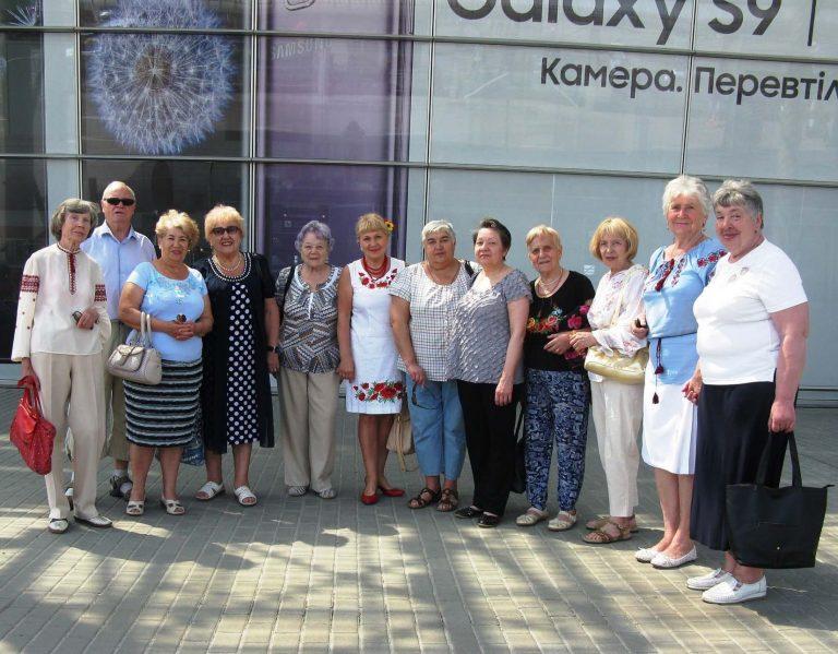 Літні львів'яни святкують День міста