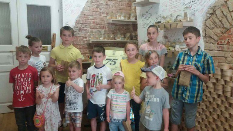 У Львові для дітей провели майстер-клас з миловаріння