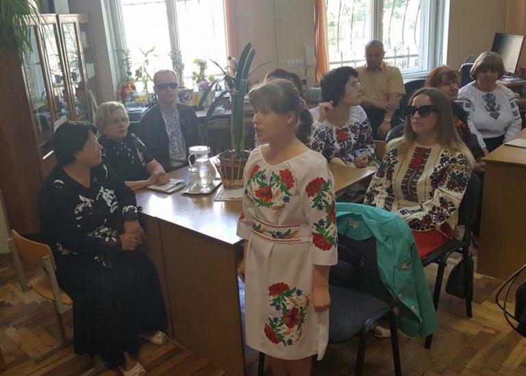 У Львові незрячі змагалися у конкурсі декламаторів