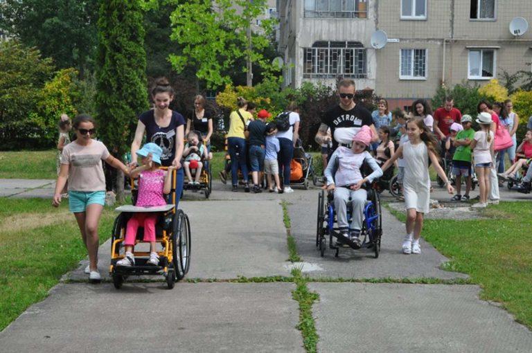 У «Джерелі» завершився інклюзивний літній міні-табір: участь взяли півсотні дітей