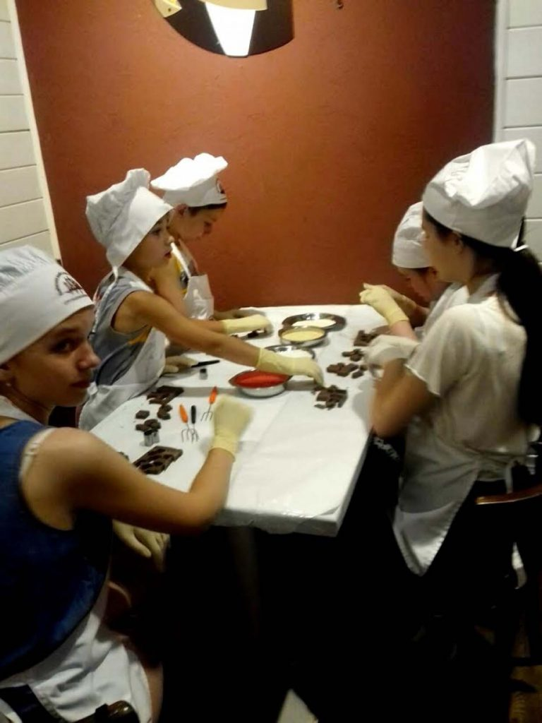 У Львові для дітей провели «шоколадний» майстер-клас
