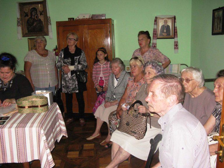 Львів'яни літнього віку побували в музеї-квартирі Блаженного Василя Величковського