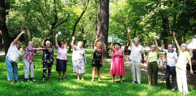 У Львівському міському територіальному центрі для літніх людей оганізовують заходи присвячені фізичному здоров'ю