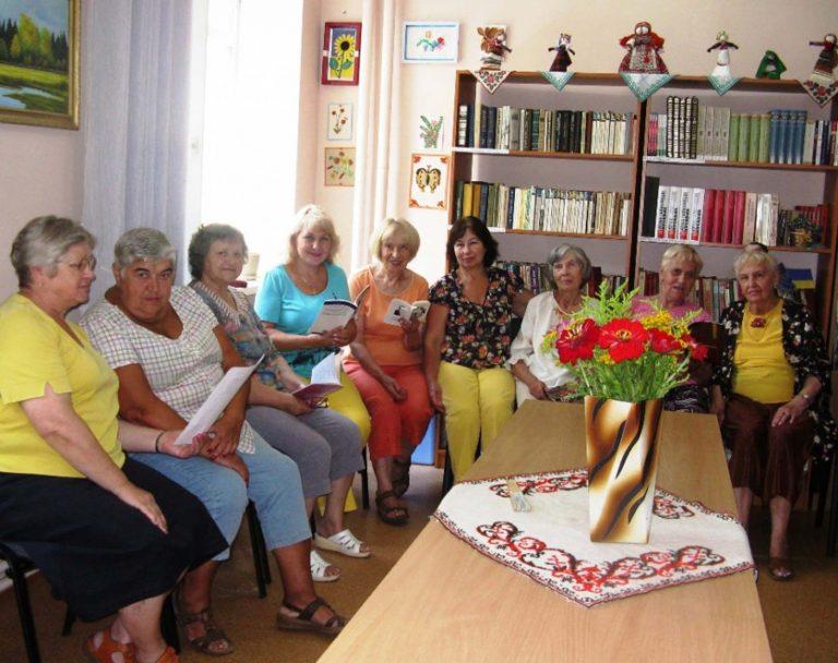 Літні львів'яни беруть участь у літературних заходах