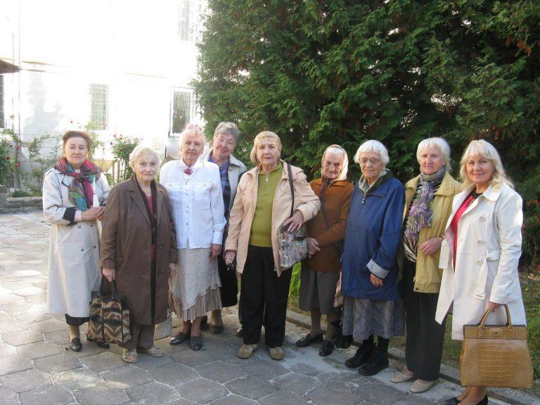 Літні львів'яни побували у монастирі святого Альфонса