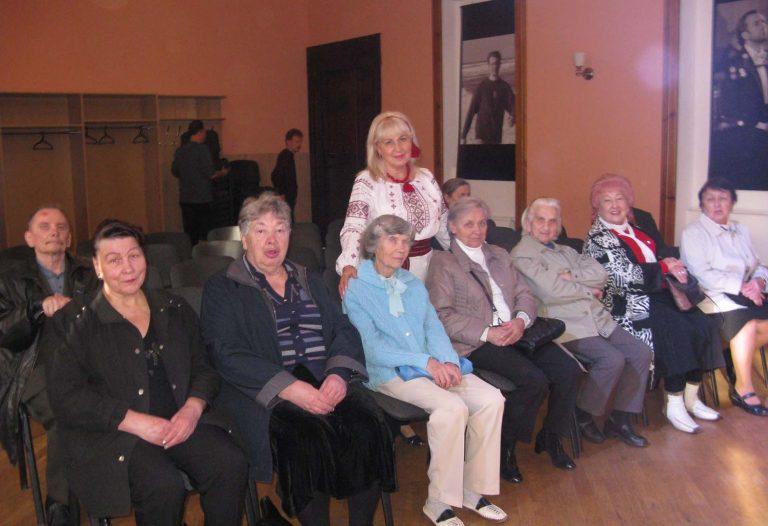 Літні львів'яни побували на концерті «Для тебе, Україно, ми жили» – присвяченій 100 річчю ЗУНР