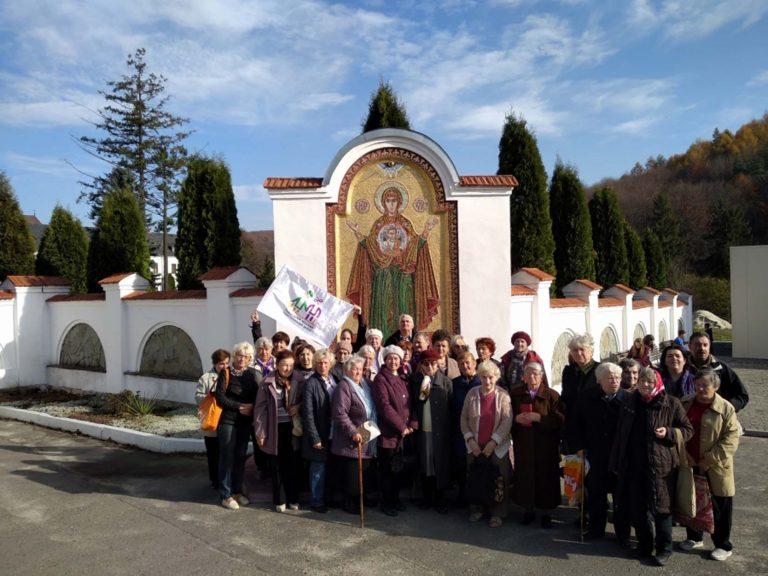Львів'яни поважного віку відвідали Свято-Успенську Унівську лавру