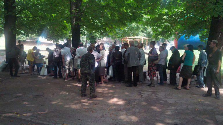 У Львові потребуючим та бездомним роздали понад 10 тисяч гарячих обідів