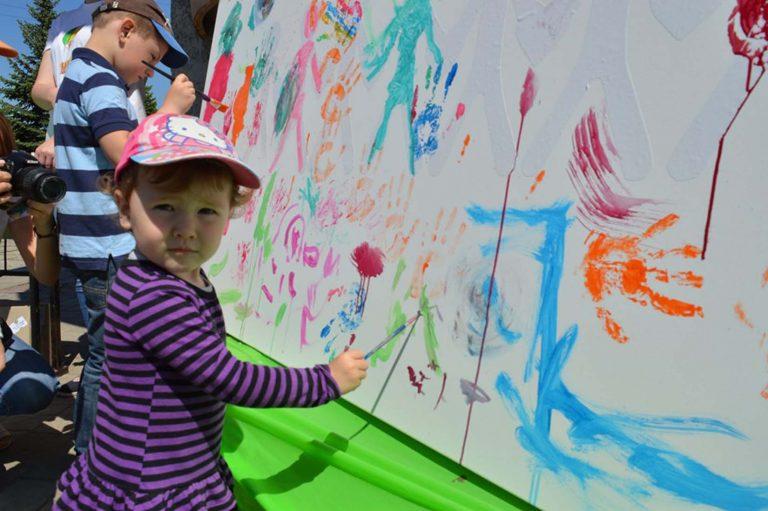 Дитяче свято з нагоди Дня захисту дітей