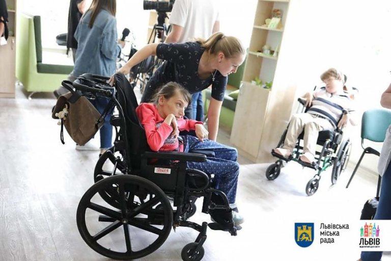 У Львові запрацював новий осередок денного перебування для осіб з інвалідністю
