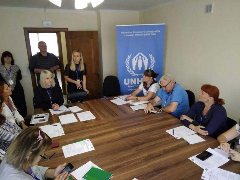 У Центрі соціальної підтримки обговорили житлові питання внутрішньо переміщених осіб