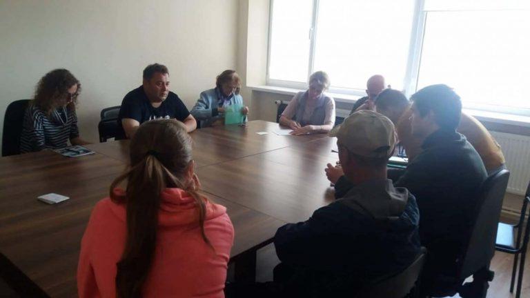 У Центрі соціальної підтримки відбувся тренінг з питань виборчого права